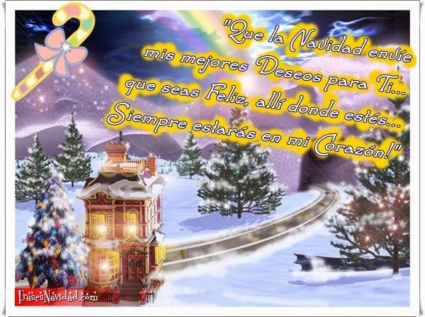 Cartas con lindos textos de navidad