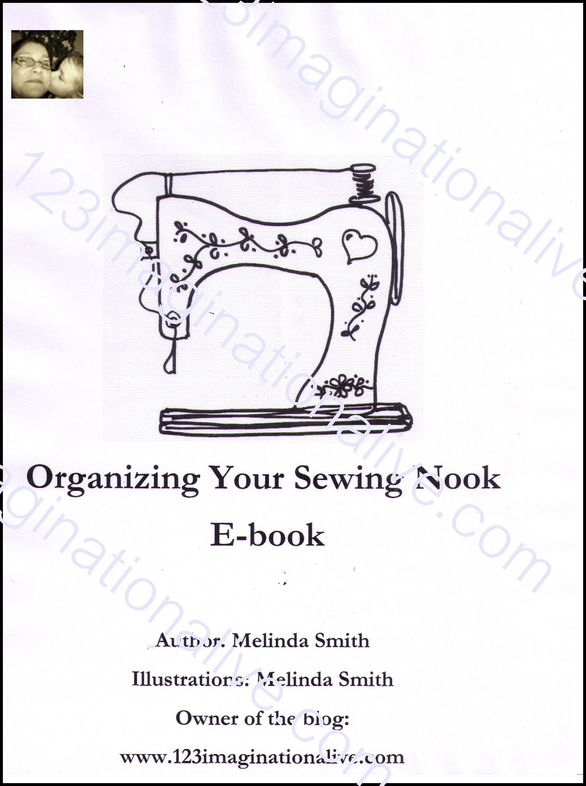 E-book Organizing Your Sewing Nook