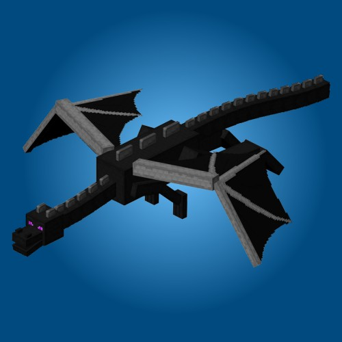 Minecraft Papercraft: Ender Dragon