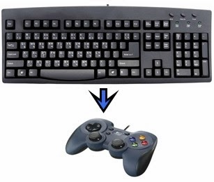 Mengubah Fungsi Keyboard Dengan Joystick Untuk Game PC