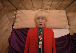 SHINee Dream Girl Key in bed