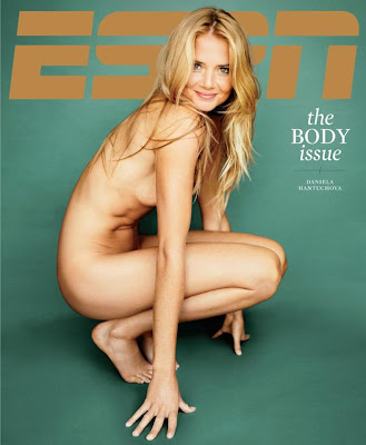 Daniela Hantuchova Nude in ESPN Body Issue 2012 Cover