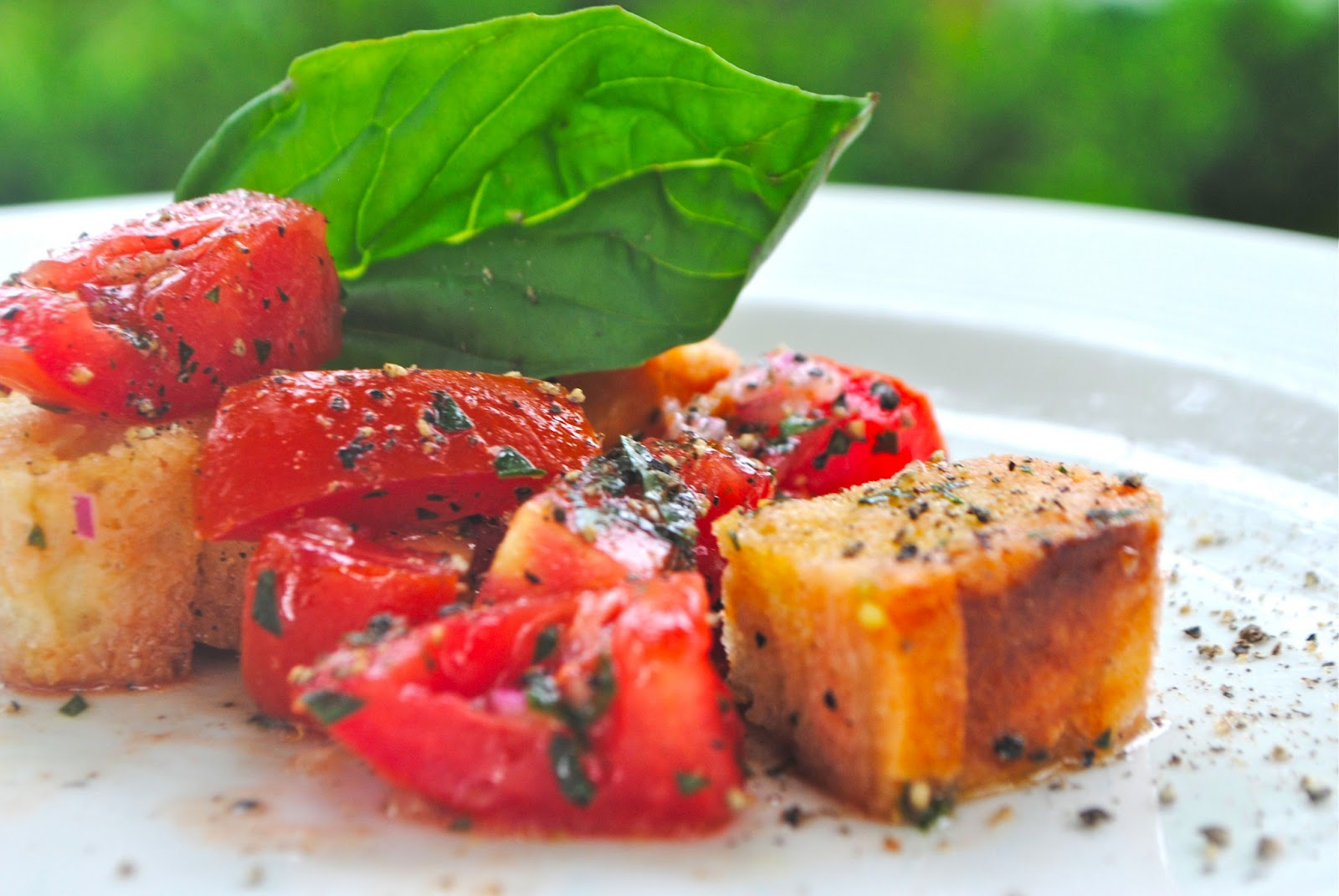 tomatoes, cut into cubes