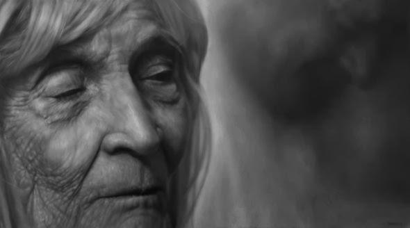 Jason Bard Yarmosky pinturas hiper realistas avós idosos velhice envelhecimento