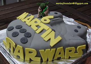 StarWars skepp tårta