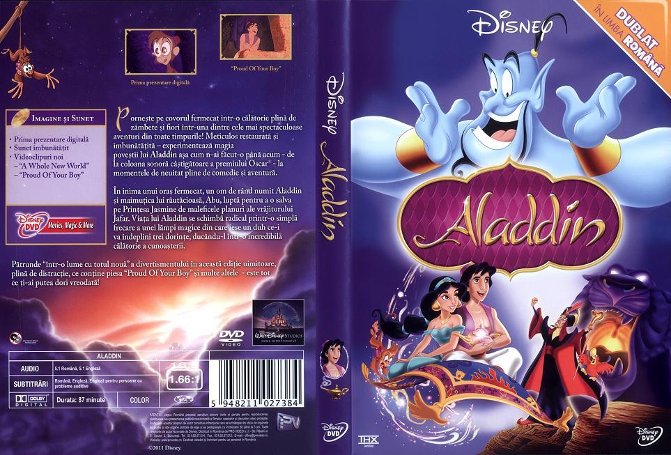 Aladdin 1992 Dvd