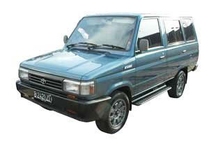 Toyota Kijang Super generasi kedua dibuat tahun 86 - 96, mobil ini