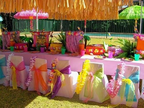 Decoracion Hawaiana Manualidades ~ Ideas y cosas para tus fiestas infantiles Fiesta hawaiana