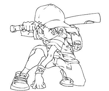 #8 Ness Coloring Page