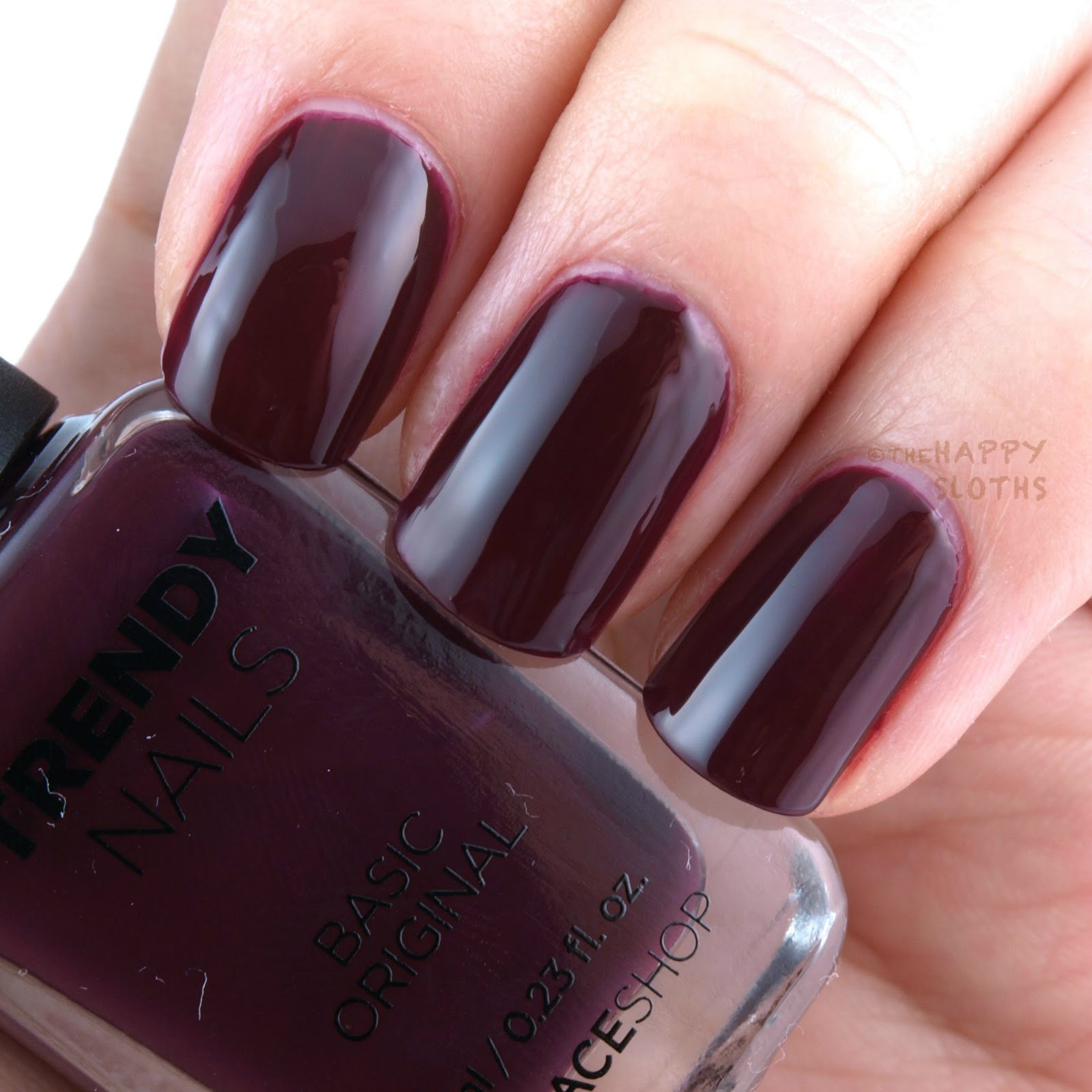 THEFACESHOP Holiday 2015 Trendy Nails Nail Polish Collection: Review ...