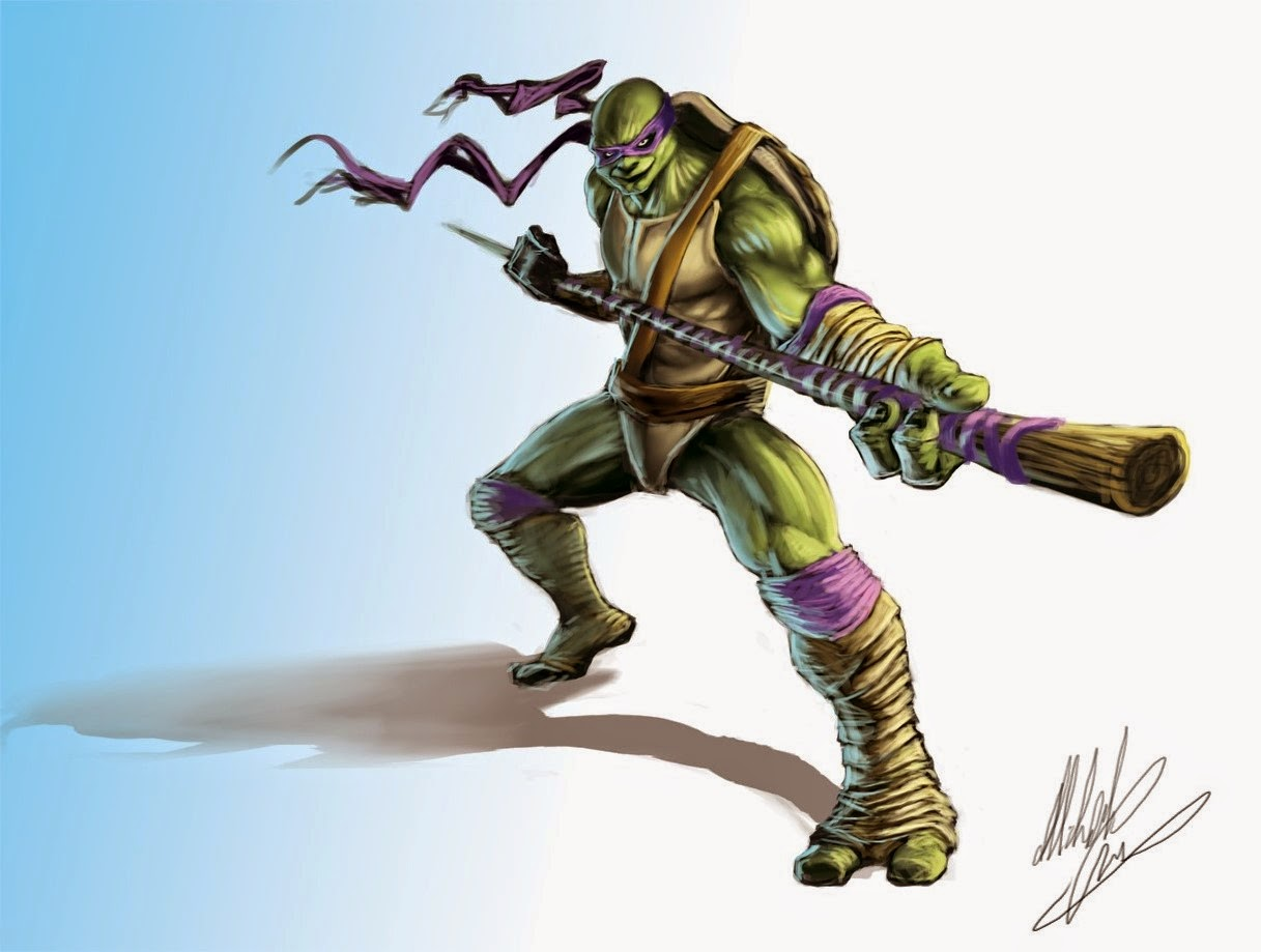 Donatello Ninja Turtle Drawing