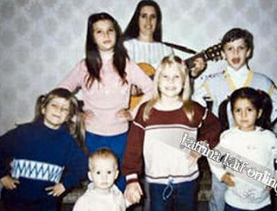 Jennifer Aniston: Katrina Kaif Childhood Pictures Childhood Pics Of Katrina Kaif With Her Family