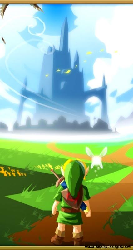Zelda Iphone Wallpaper Hd Wallpapers Plus