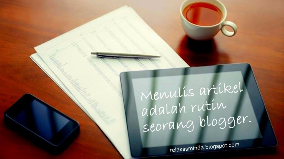 Seorang blogger juga adalah seorang penulis