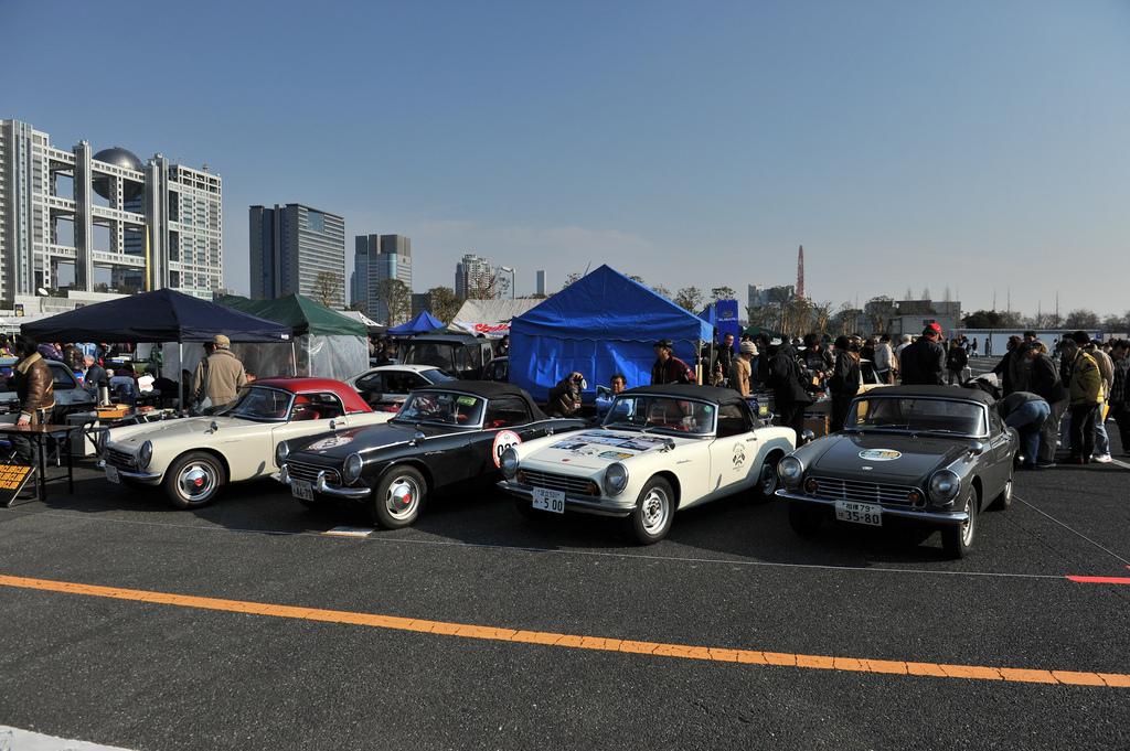Honda S500, sports, stary japoński samochód, klasyk, oldschool, roadster, 日本車, スポーツカー, クラシックカー