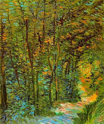 Sendera del bosc (Vincent Van Gogh)