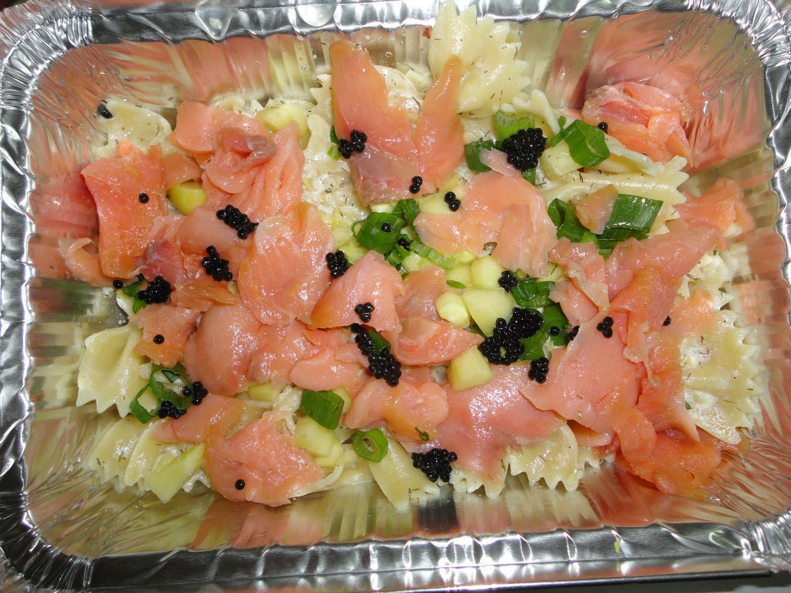 Smoked Salmon With Caviar On Cucumber Recipes — Dishmaps