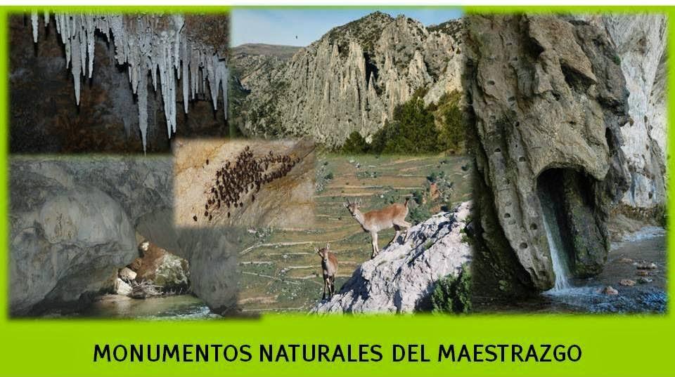 MONUMENTOS NATURALES MAESTRAZGO