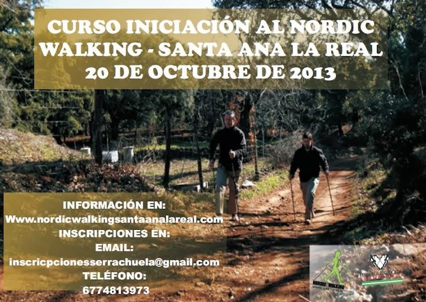 CURSO DE INICIACIÓN AL NORDIC WALKING - SANTA ANA LA REAL