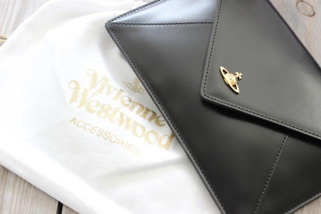 Vivienne Westwood Private Envelope Clutch Bag.
