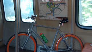 bicycle on the washington dc metro