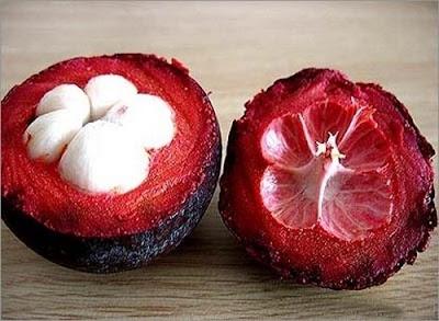 Frutas exóticas y bellas - Mangostán