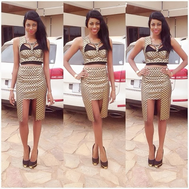 What Do You Think Of Yvonne Nelson's Outfit?