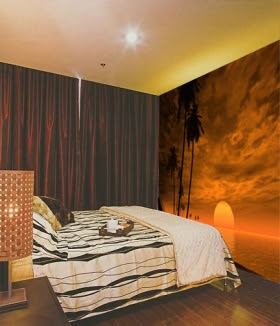 wall wallpaper-Bedroom Wall Painting-mural wallpaper photos 3