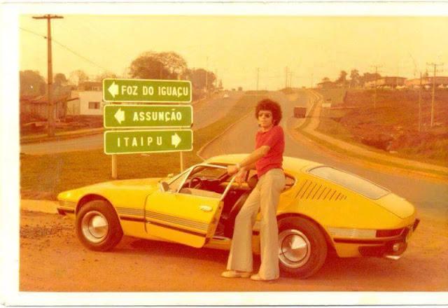 Foto antiga década de 70 Volkswagen SP2_06