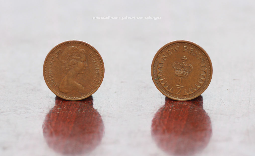 Great Britain coin 1/2 Penny 1977