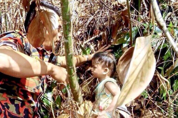 Kanak Kanak 2 Tahun Ditemui Dalam Hutan
