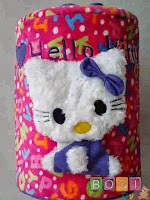 Sarung Galon hello Kitty