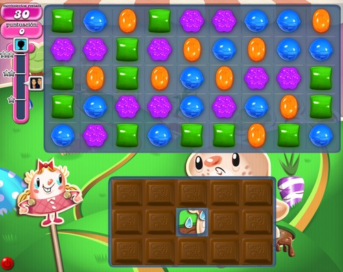 Nivel 73 de Candy Crush Saga