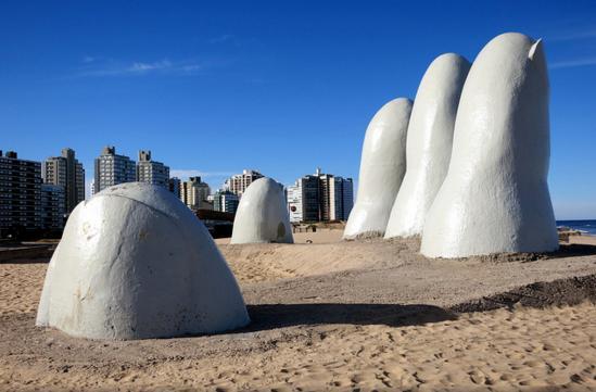 Fingers in Uruguay