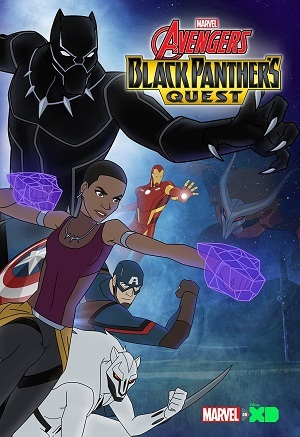 Os Vingadores - A Missão do Pantera Negra Legendado Desenhos Torrent Download capa