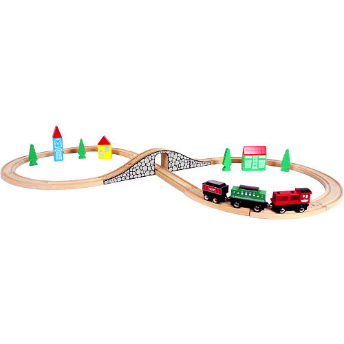 imaginarium wooden train set instructions