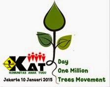 Mari menanam 1jt pohon
