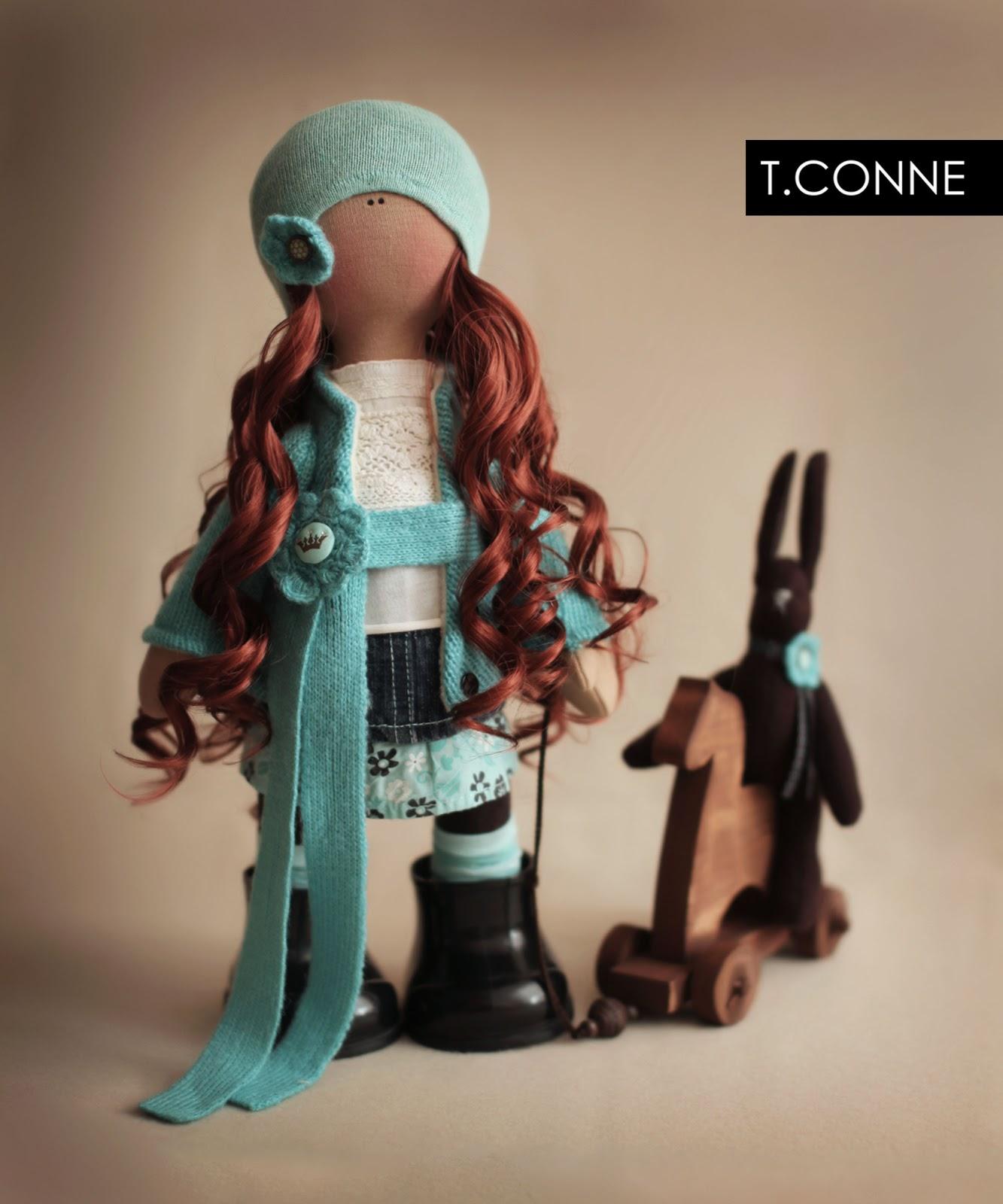 Очаровательная куколка от Татьяны Коннэ Очаровательная куколка от Татьяны Коннэ Не перестаю восхищаться работами...