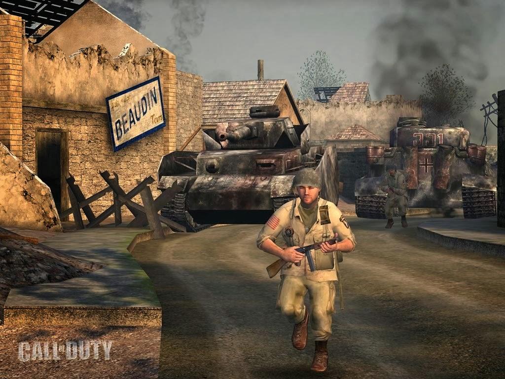 شرح تحميل لعبة 1 Call Of Duty مضغوطة بحجم 420 MB وبدون تثبيت لعبة 1 Call Of Dutyلعبة 1 Call Of Duty
