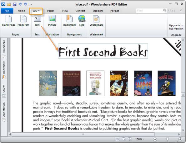 Wondershare PDF Editor 3.9.8.1