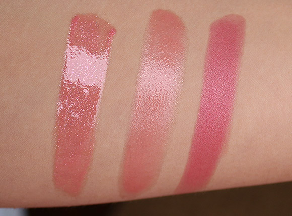 Chanel Surprenante Rouge Allure Lipstick swatches
