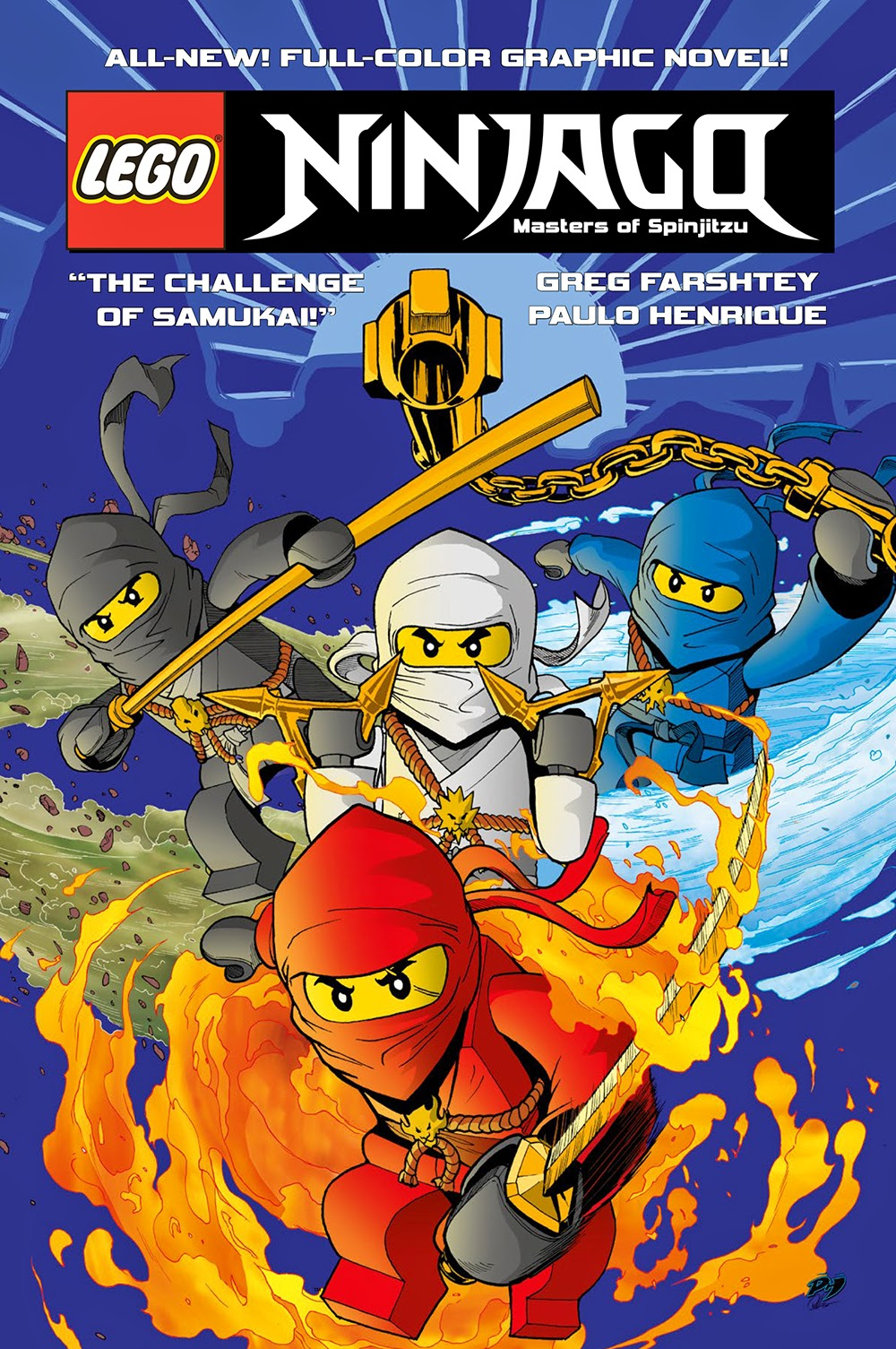 LEGO Ninjago Graphic Novels THe Challenge Of Samukai review
