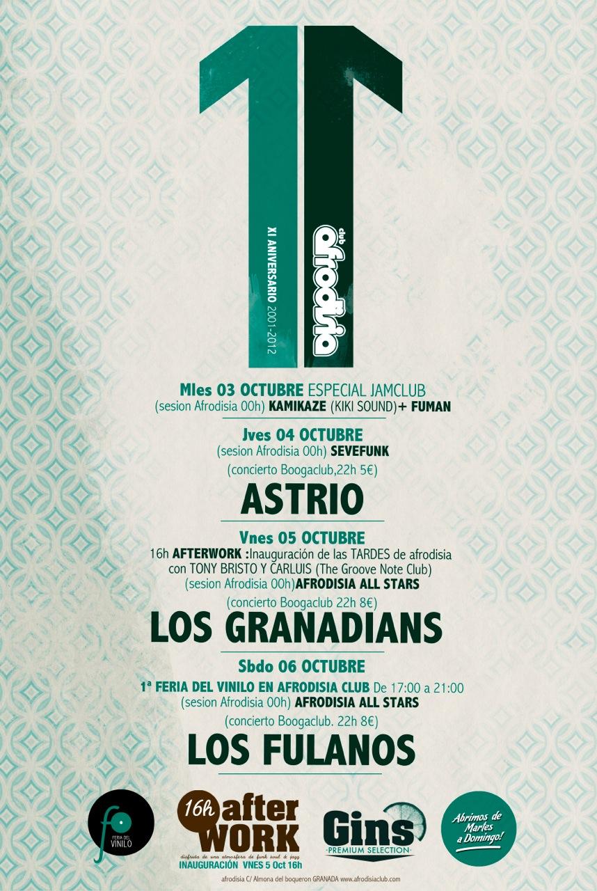 Los Granadians Del Espacio Exterior Idolos De La Juventud Audaz - El Reggae A Go-Go