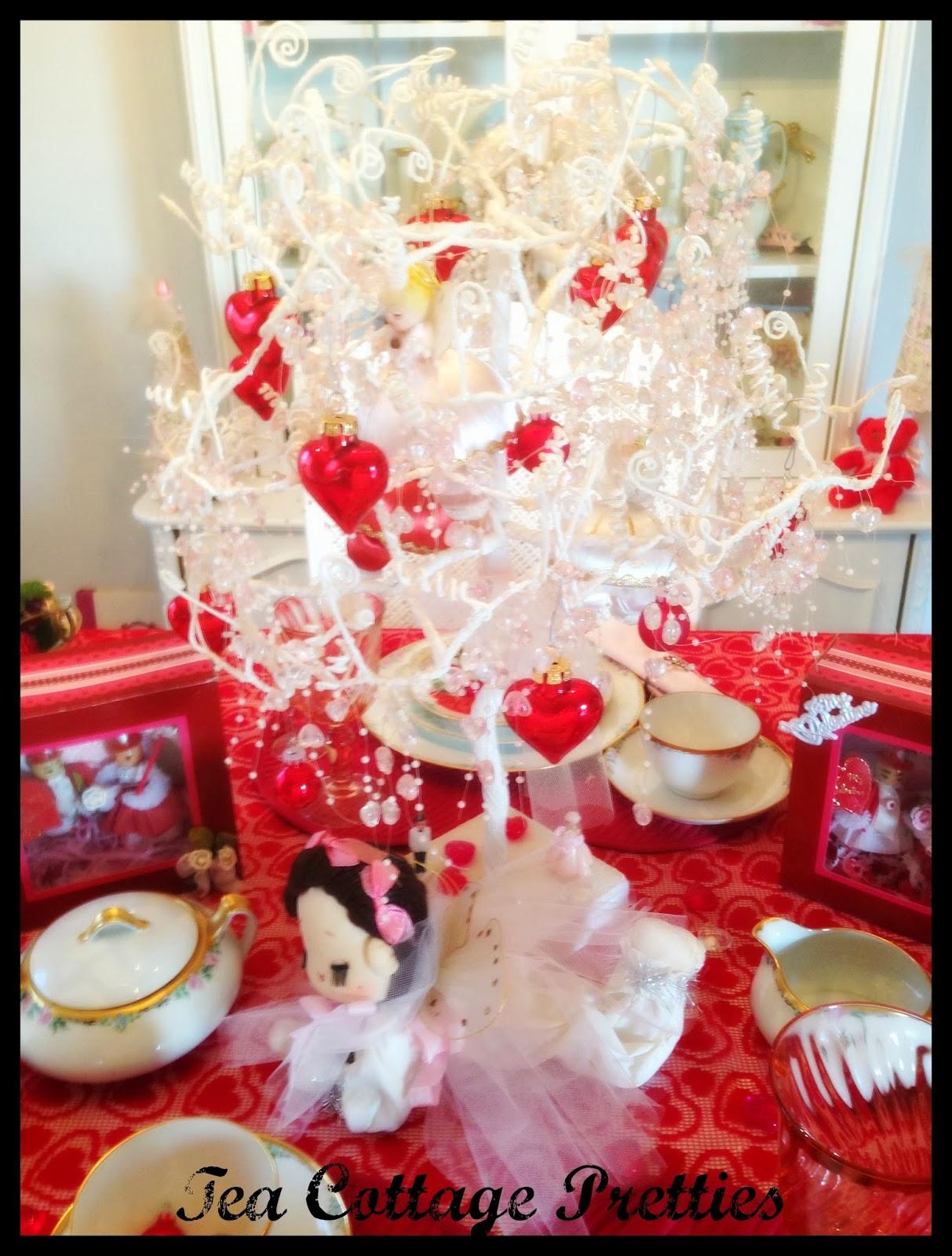 tea cottage pretties valentine 39 s day decor and tablescape