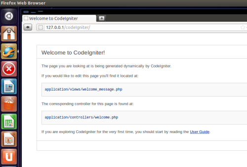 Installing Code Igniter di Ubuntu