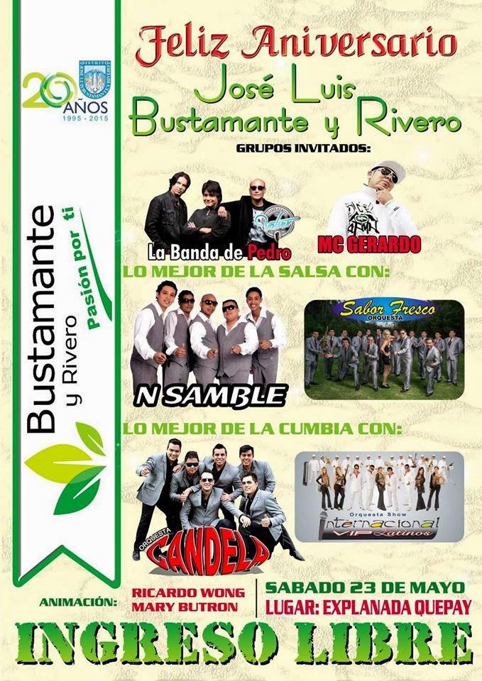 Serenata Bustamante y Rivero - 23 de mayo