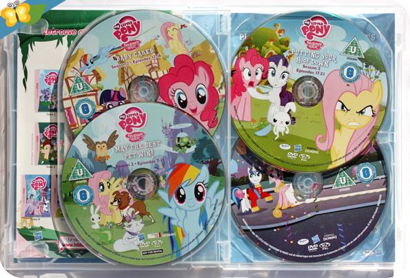 My Little Pony - Les amies c'est magique - DVD intégrale de la saison 2