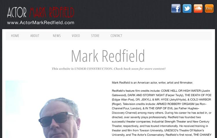Actor Mark Redfield