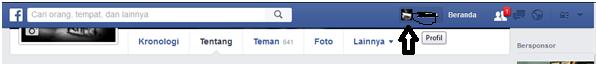 Mengubah profil facebook