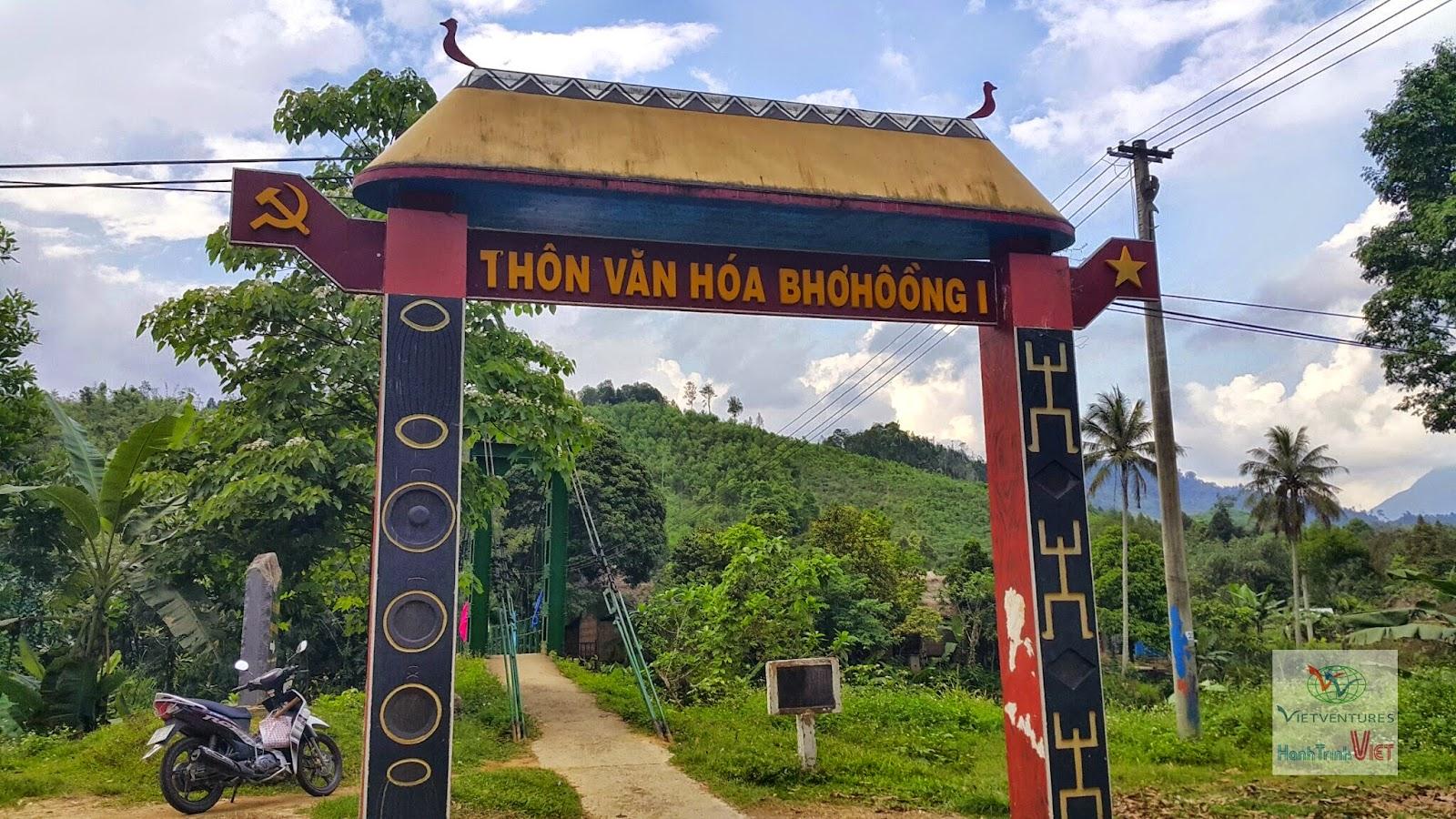 Du lịch cộng đồng thon Bho Hoong, Đông Giang, Quảng Nam